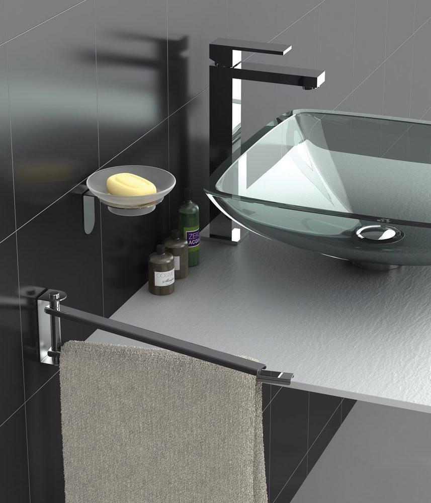 accessori bagno porta asciugamani easy da capannoli