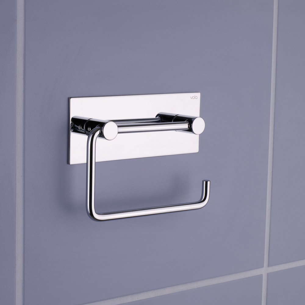 vola accessoires f rs bad toilettenpapierhalter t12 designbest. Black Bedroom Furniture Sets. Home Design Ideas