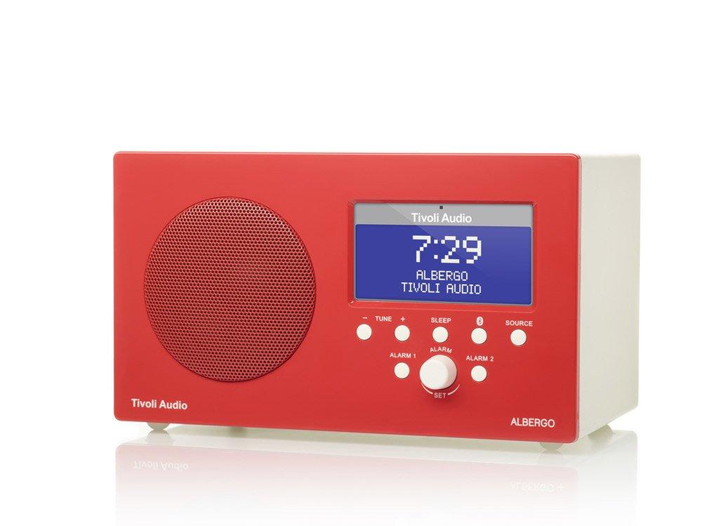 high tech design accessories radio alarm clock albergo by tivoli audio. Black Bedroom Furniture Sets. Home Design Ideas
