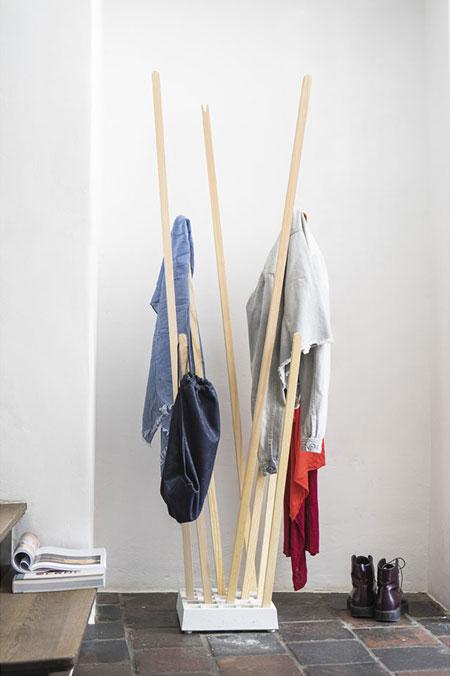 appendiabiti appendiabiti pin coat da moormann. Black Bedroom Furniture Sets. Home Design Ideas