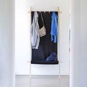 garderoben kleiderst nder garderobe lodelei von moormann. Black Bedroom Furniture Sets. Home Design Ideas