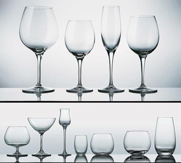 Bicchieri da tavola servizio enos da domino - Disposizione bicchieri in tavola ...