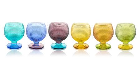 Set calici Multicolor