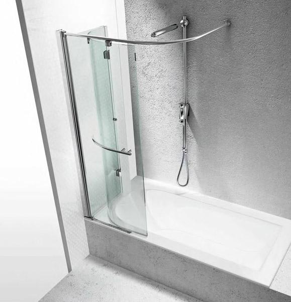 Box doccia: Parete vasca Parentesi SR da Vismaravetro