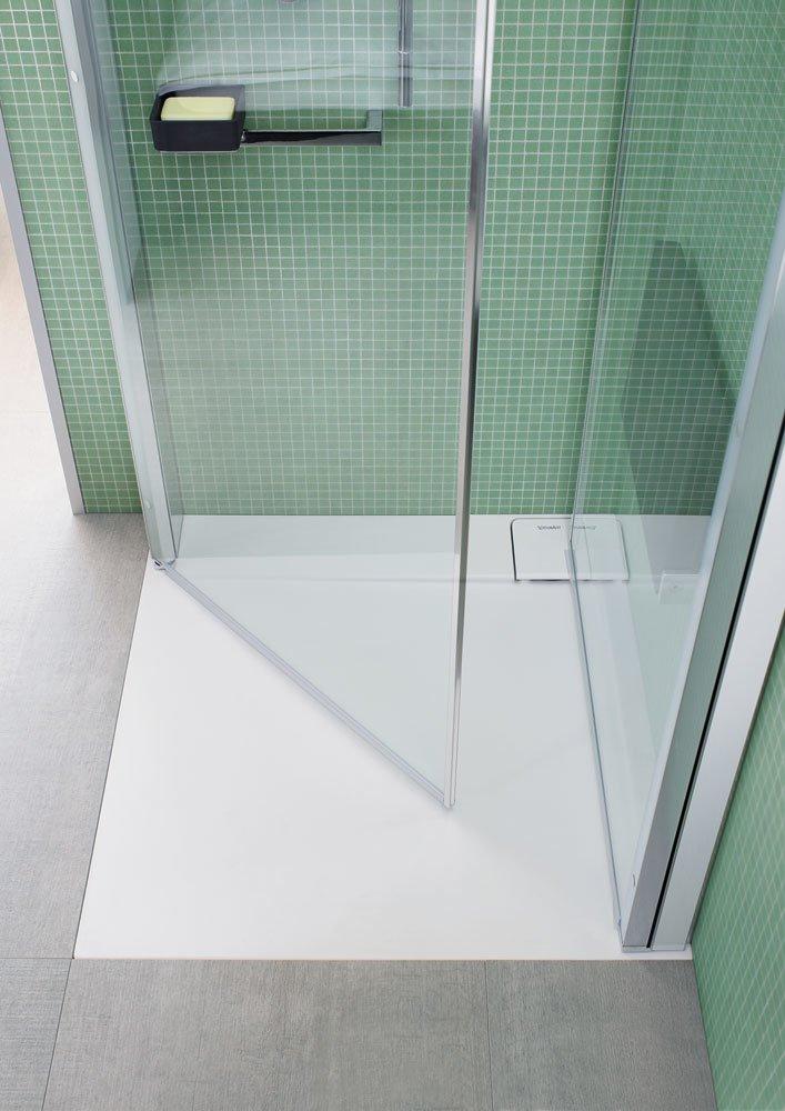 Box doccia box doccia openspace b da duravit - Box doccia pentagonale ...