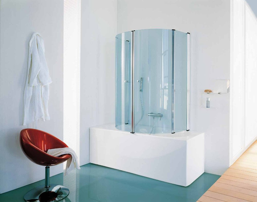 Box doccia parete vasca eclisse da samo - Pareti vasca da bagno prezzi ...