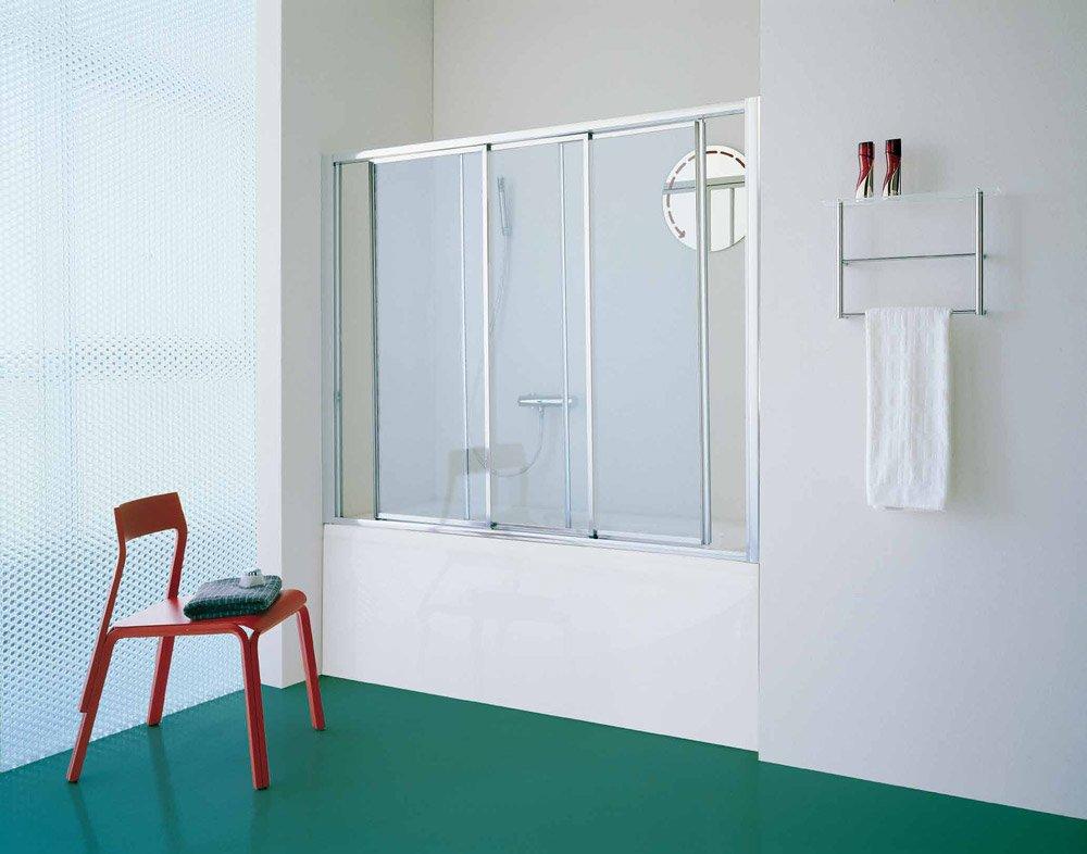 Box doccia parete vasca classic da samo for Parete vasca ikea