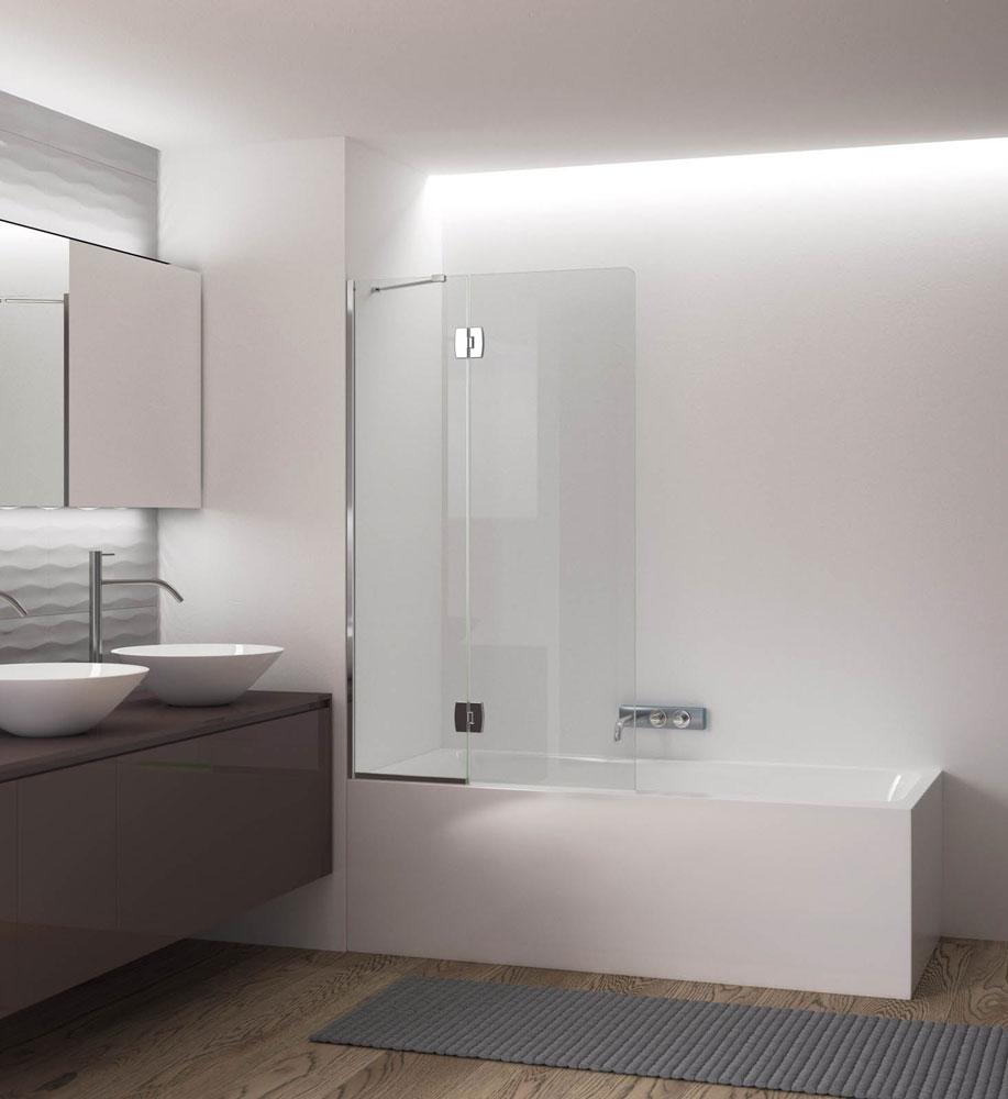 Box doccia parete vasca sopravasca da calibe - Box doccia su vasca da bagno ...