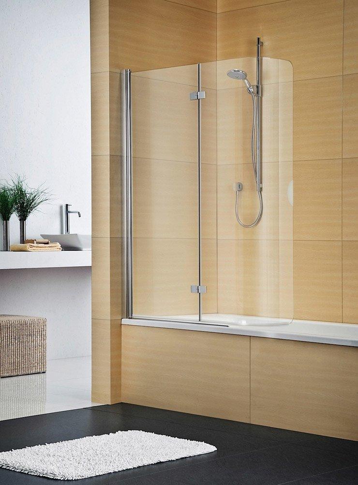 Parete doccia su vasca da bagno for Parete vasca ikea