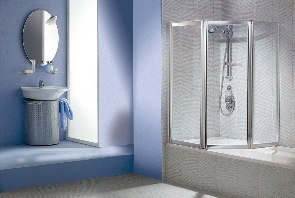 Box doccia: Parete vasca Multi 3000 Glass da duka