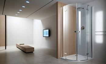 Shower enclosure Clap ad angolo