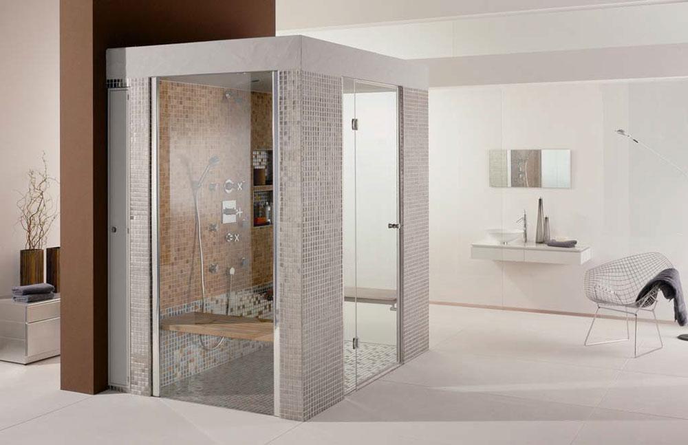 Cabine doccia cabina doccia sanoasa libert da wedi - Cabine doccia in muratura ...