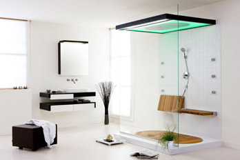 Shower enclosure SensaMare LE