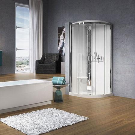 Cabina doccia Glax 3 R90