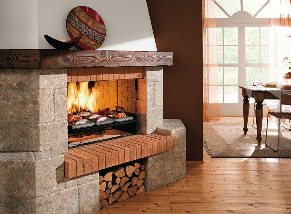 Foto di caminetti rustici foto di caminetti rustici i for Camini rustici in pietra e legno