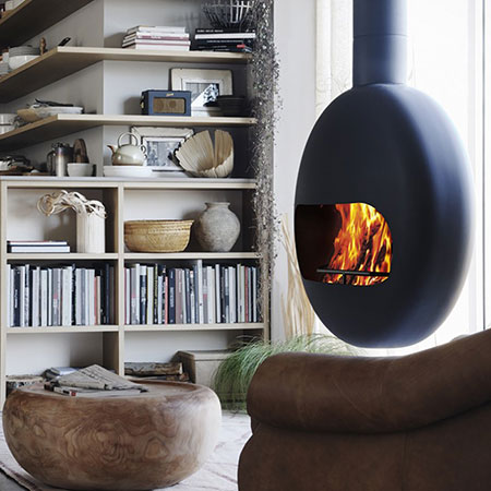Fireplace Bubble