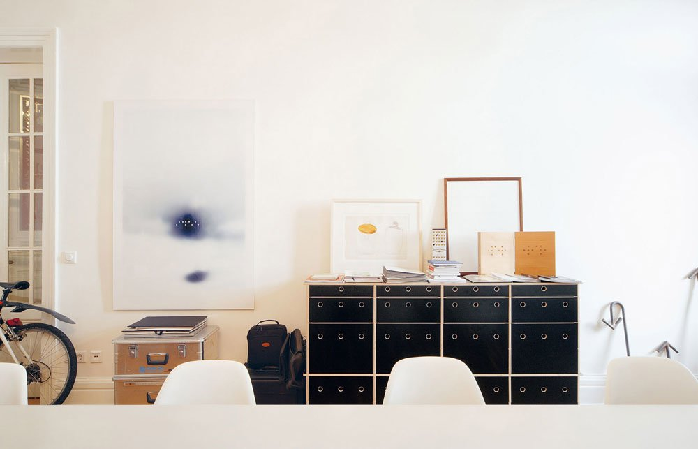 Cassettiere cassettiera lader da moormann for Cassettiere design outlet