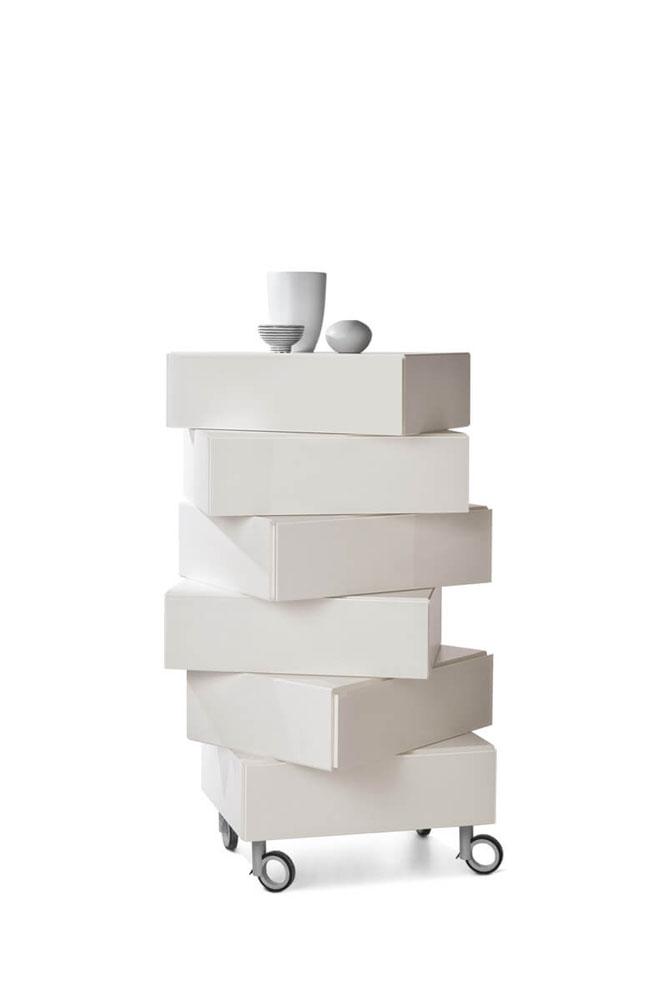 Cassettiere cassettiera morgana da lago - Cassettiere di design ...