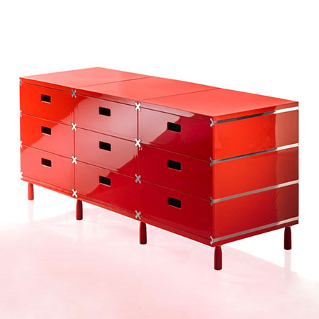 Chest of Drawers Plus Unit