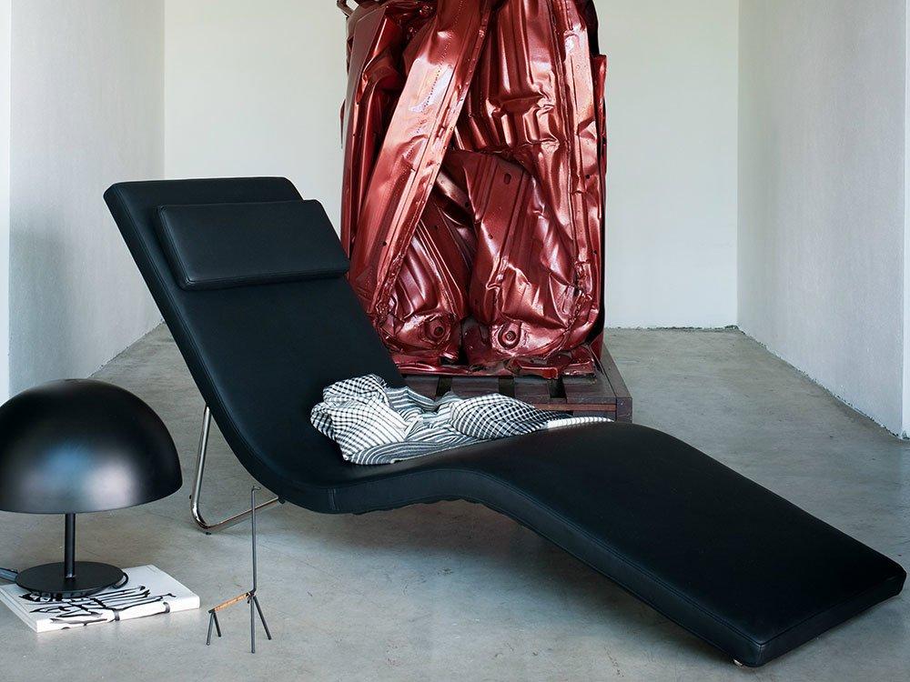 Tacchini chaise longue chaise longue slalom designbest for Chaise longue halle