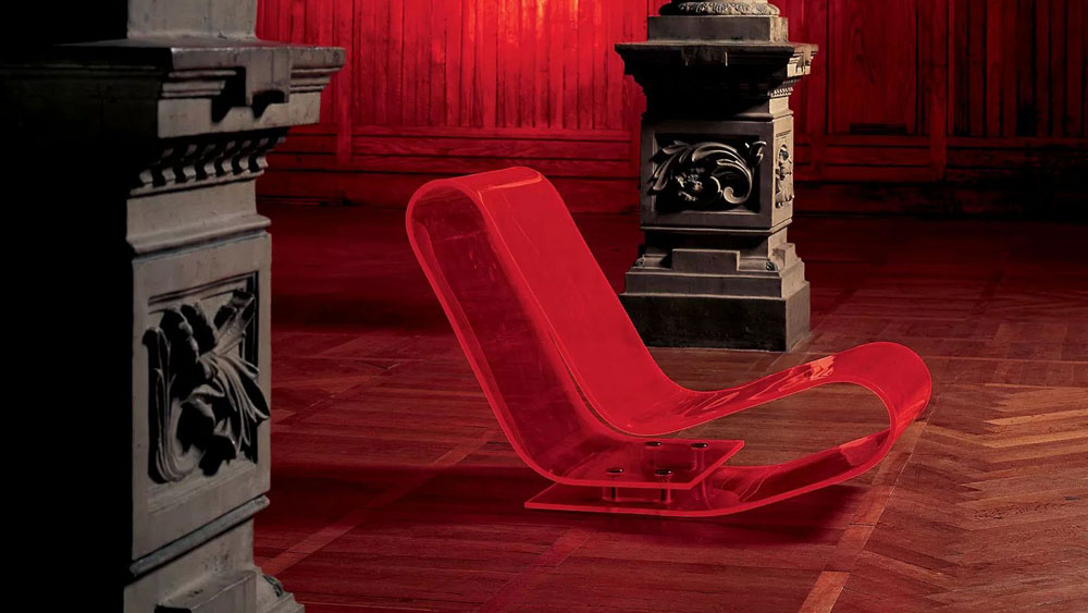 Chaise longue chaise longue lcp by kartell - Copie chaise kartell ...