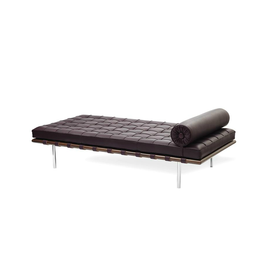 chaise longue lettino barcelona da knoll. Black Bedroom Furniture Sets. Home Design Ideas