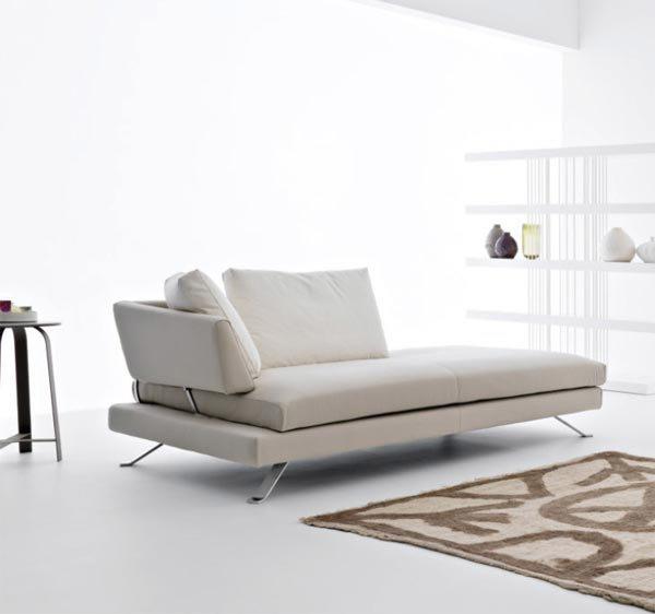 divano chaise longue letto idee per il design della casa. Black Bedroom Furniture Sets. Home Design Ideas