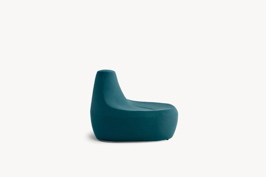 Moroso chaise longue chaiselongue saruyama island designbest for Chaise longue halle