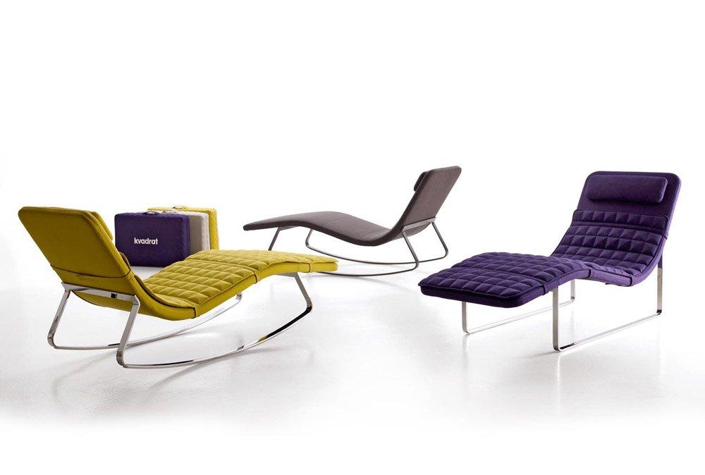 Chaise longue chaise longue landscape by b b italia for Chaises longues