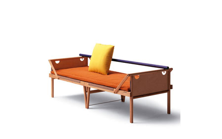 Chaise longue Ospite
