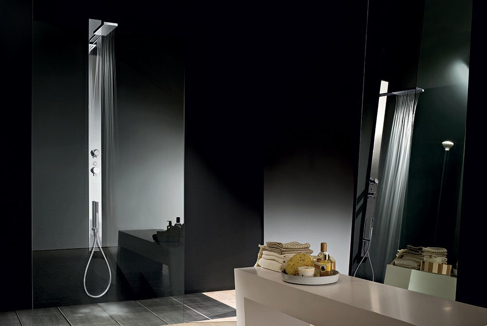 catalogue colonne douche acquatonica fantini designbest. Black Bedroom Furniture Sets. Home Design Ideas