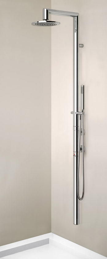 Shower panel Ovale
