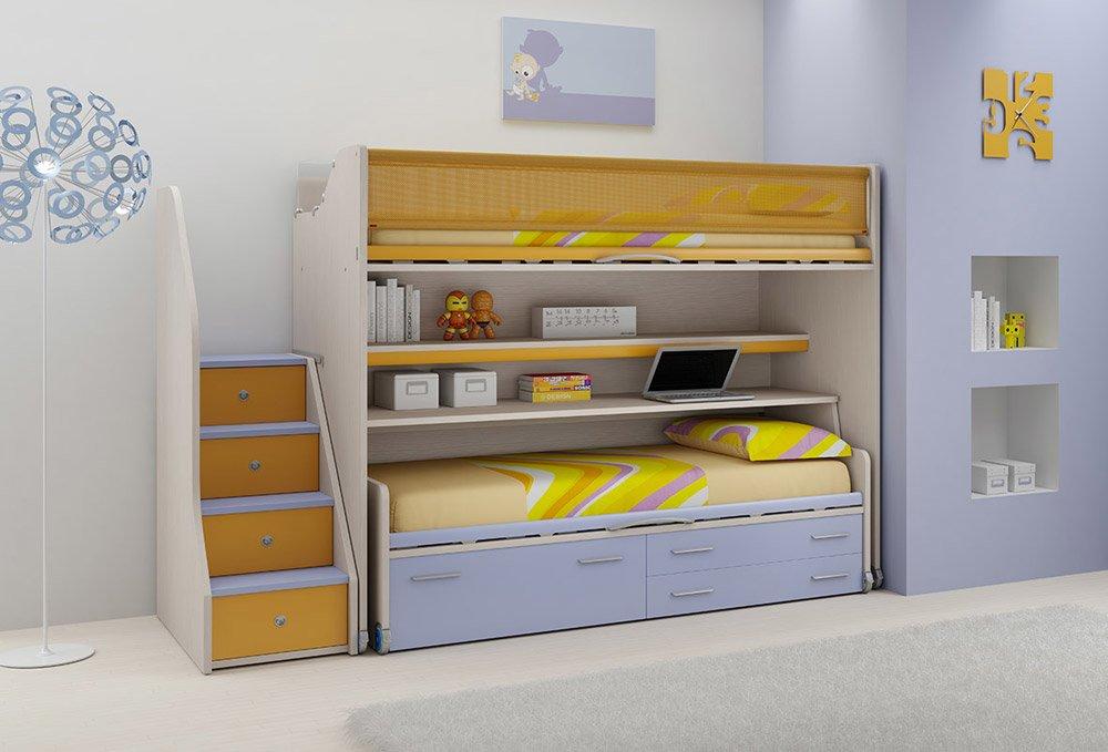Camerette composizione lh24 kids da moretti compact - Camere da letto moretti ...