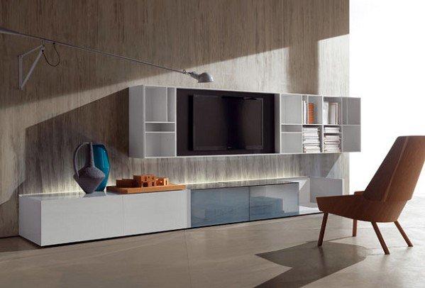 Composizioni soggiorno composizione n c smartwall da - Acerbis mobili outlet ...