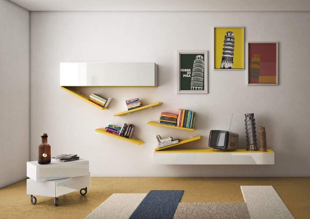 Composizioni soggiorno composizione 36e8 da lago for Composizioni soggiorno design