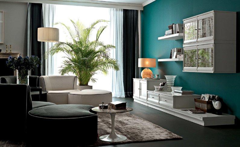Soggiorno shabby chic moderno top shabby chic home with for Arredamento chic moderno