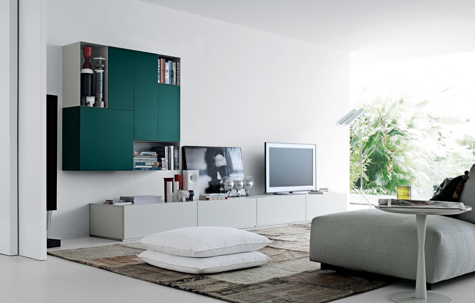 Living Room Sets Composition Sintesi A By Poliform