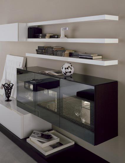 Composizioni soggiorno composizione zerotre a da for Composizioni soggiorno design