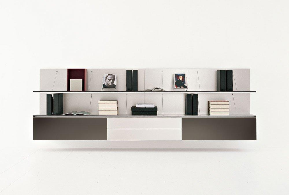 Composizioni soggiorno composizione pab b da b b italia for Composizioni soggiorno design