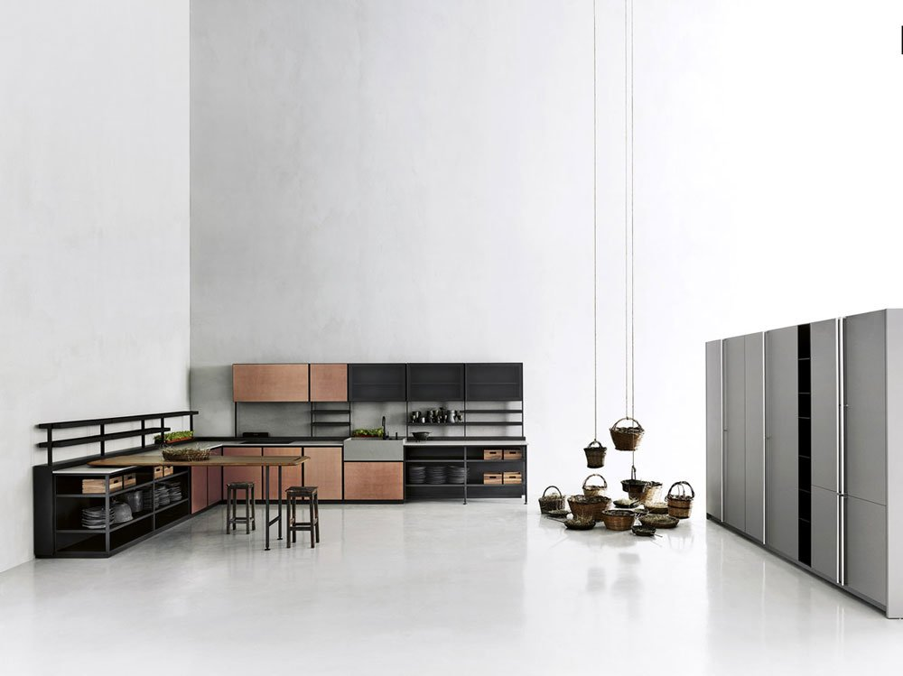 cucine free standing cucina salinas a da boffi kitchens. Black Bedroom Furniture Sets. Home Design Ideas