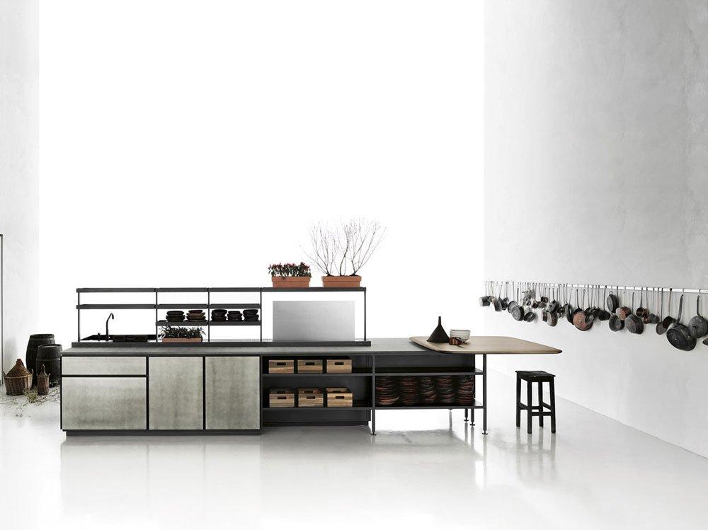 Cucine free standing cucina salinas b da boffi kitchens - Cucine boffi milano ...