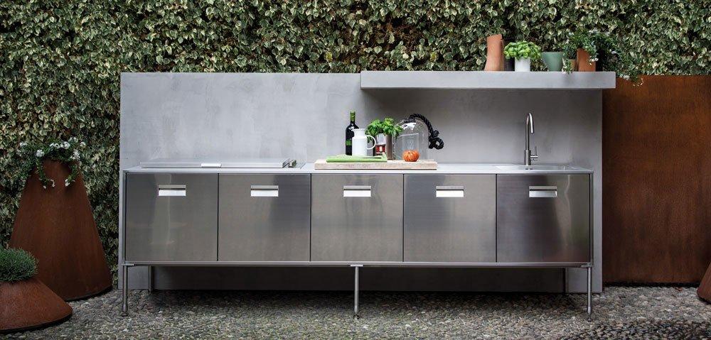 arclinea freistehende k chen k che artusi outdoor designbest. Black Bedroom Furniture Sets. Home Design Ideas