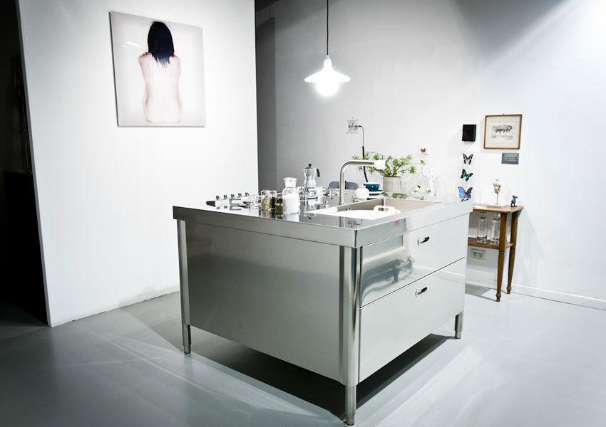 Cucine free standing cucina e da alpes inox - Ikea cucine free standing ...