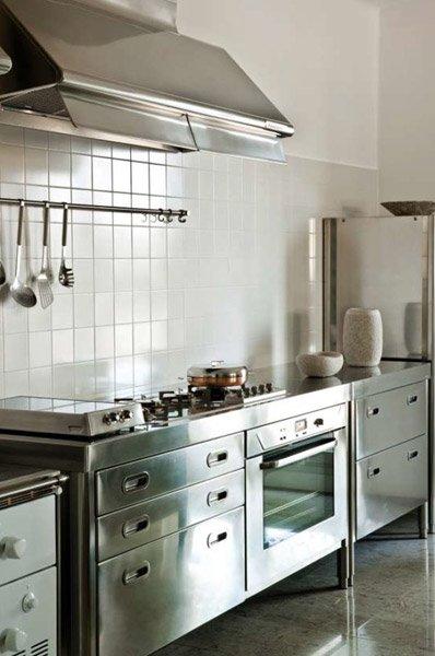Cucine free standing cucina h da alpes inox - Cucina freestanding ...