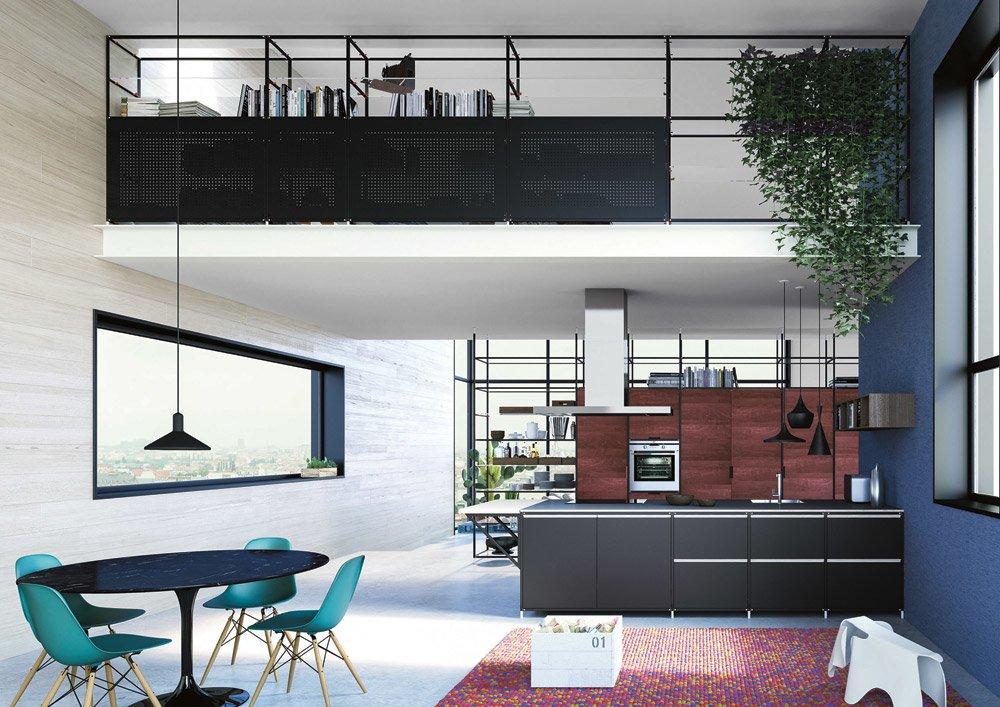 freistehende k chen k che meccanica b von valcucine. Black Bedroom Furniture Sets. Home Design Ideas