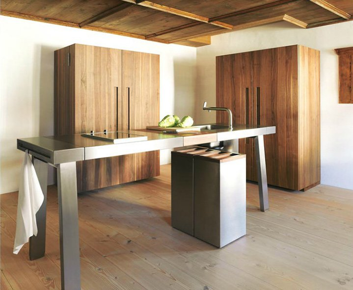 bulthaup freistehende k chen k che bulthaup b2 a designbest. Black Bedroom Furniture Sets. Home Design Ideas