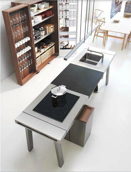 bulthaup freistehende k chen k che bulthaup b2 b. Black Bedroom Furniture Sets. Home Design Ideas