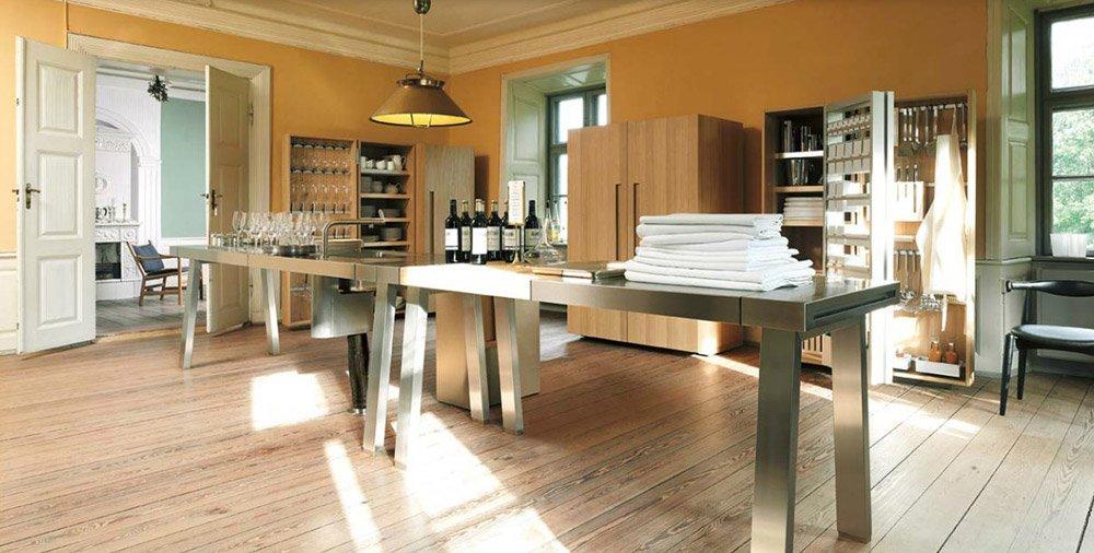 cucine free standing cucina bulthaup b2 c da bulthaup. Black Bedroom Furniture Sets. Home Design Ideas