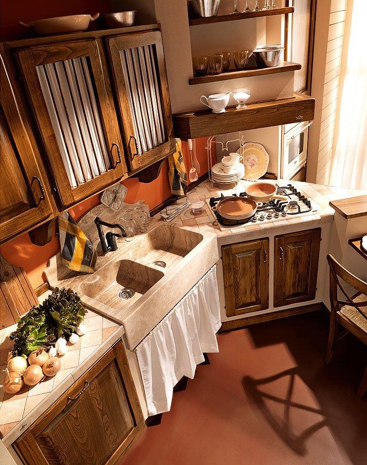 Cucine in muratura cucina paolina di oggi d da zappalorto - Immagini cucine muratura ...