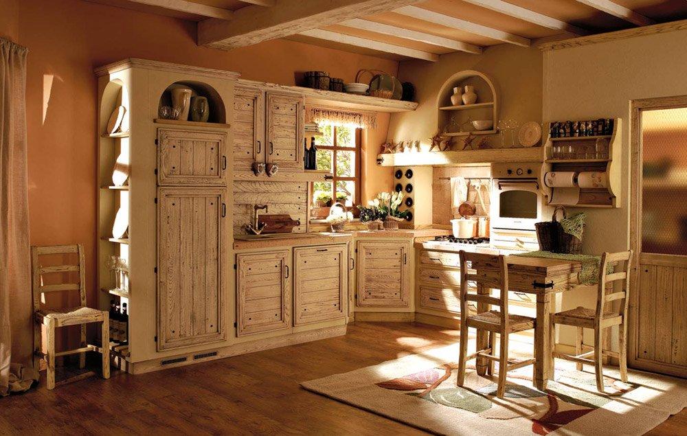Cucine in muratura cucina giulietta a da zappalorto - Cucine country immagini ...